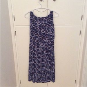 Lauren Ralph Lauren Blue Diamond Dress